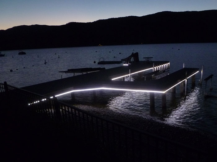 underwater dock lights premier led technology aqua dock