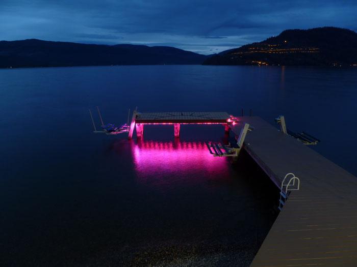 C Accent Led Under Dock Lighting on Wiring Led Strip Lights