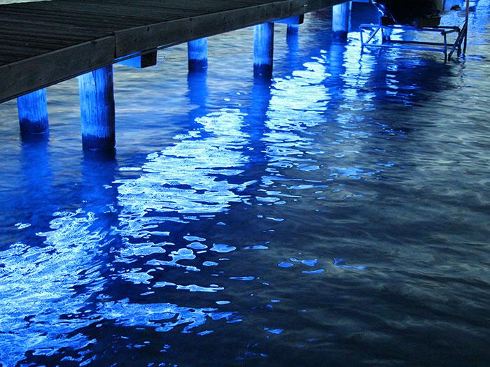 Okanagan Lake Central & Dock Lighting - Accent LED Lighting