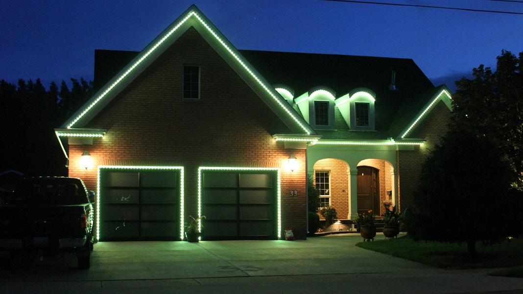 Christmas Lighting Permanent Accent Led Lighting